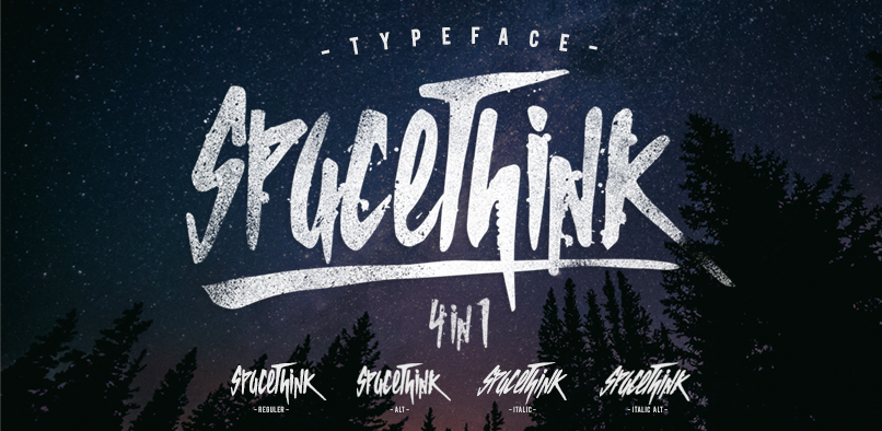Spacethink Font