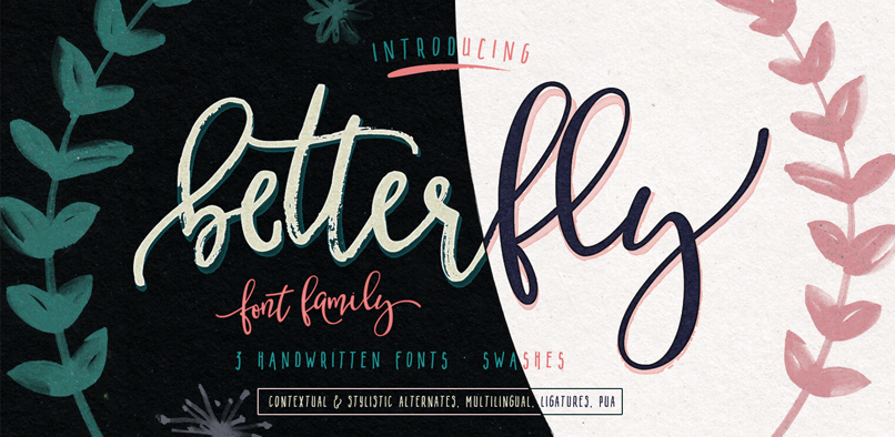 Top 30 Brush Script Fonts For Your 2016 Projects
