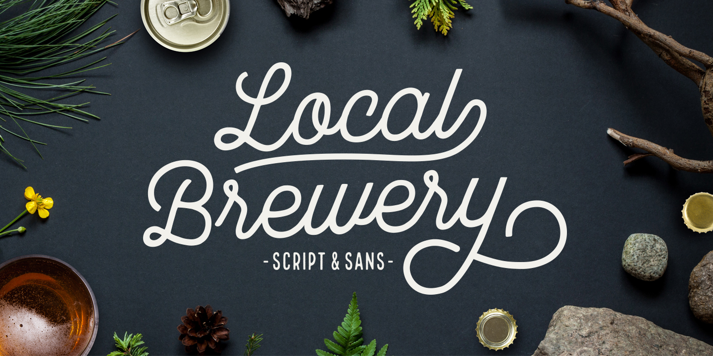 Local Brewery Font