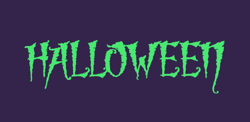 Make your invites monstrously good with Halloween fonts