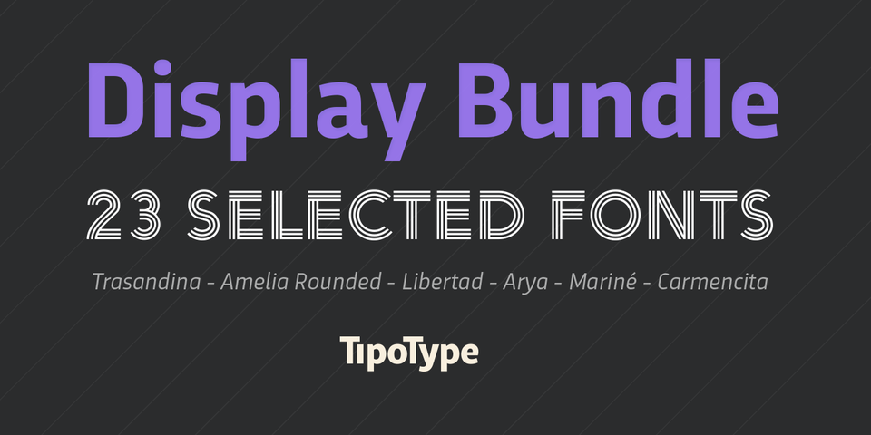 Tipotype Bundle