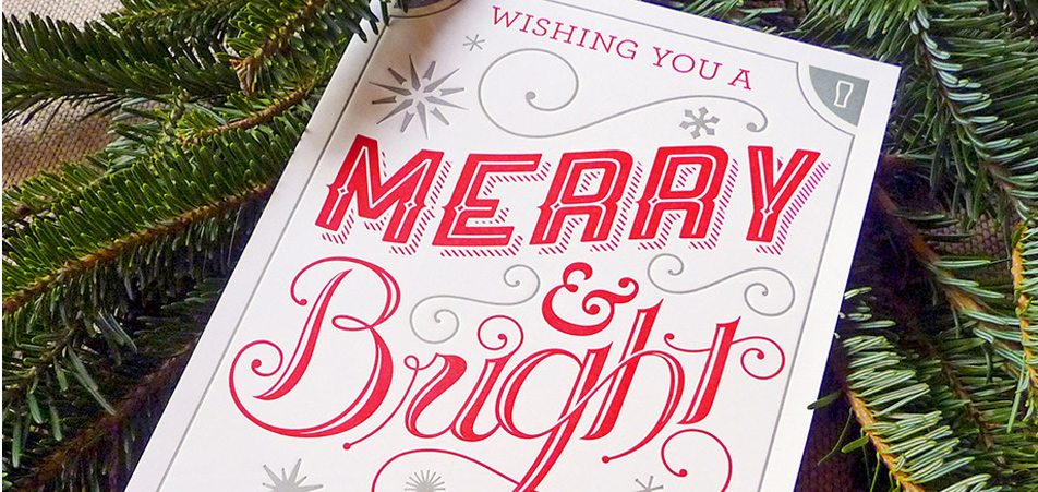Advertising, Advent, & Christmas Cards: Find Your Font