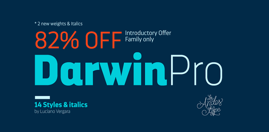 Darwin Pro: 14 weight super sans with wild savings