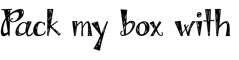 Hand Drawn Fonts Add That Extra Edge Of Authenticity