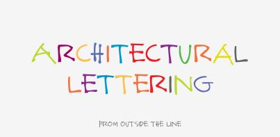 Architectural Lettering