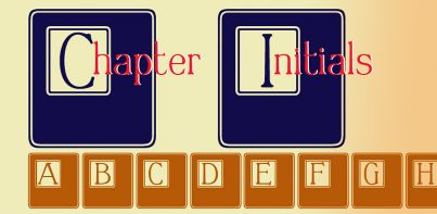 Chapter Initials