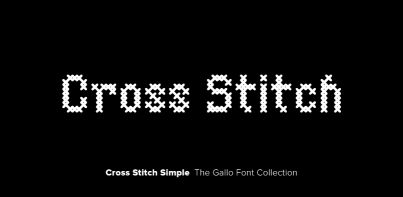 Cross Stitch Simple