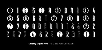 Display Digits Five