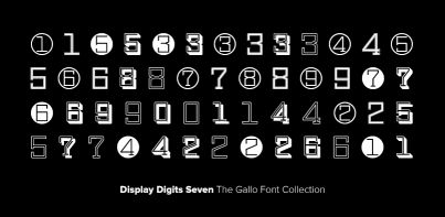 Display Digits Seven