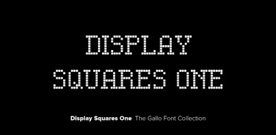 Display Squares One