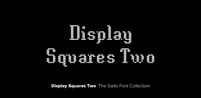 Display Squares Two