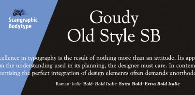 Goudy Old Style SB
