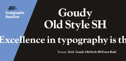 Goudy Old Style SH