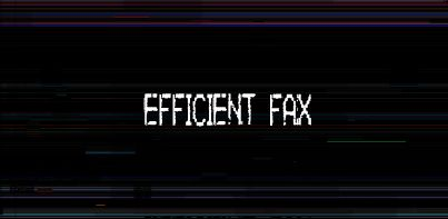 Efficient Fax