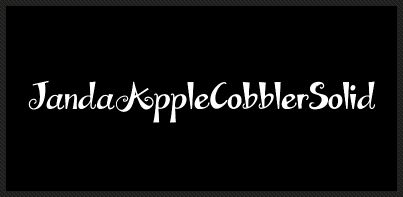 Janda Apple Cobbler Solid