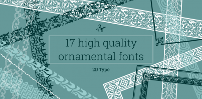 2D Typo Font Collection