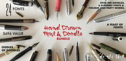 Font And Doodle Bundle